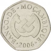 Mozambique, 1 Metical, 2006, Nickel plated steel, KM 137