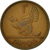 IRELAND REPUBLIC, Penny, 1943, TTB, Bronze, KM:11