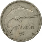 IRELAND REPUBLIC, Florin, 1963, EF(40-45), Copper-nickel, KM:15a