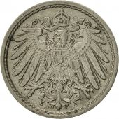 GERMANY - EMPIRE, Wilhelm II, 5 Pfennig, 1912, Munich, TTB, Copper-nickel, KM:11