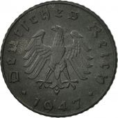 GERMANY, THIRD REICH, 5 Reichspfennig, 1947, Munich, VF(30-35), Zinc, KM:A105