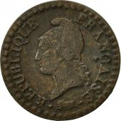 France, Dupré, Centime, 1799, Paris, TB+, Bronze, KM:646, Gadoury:76a
