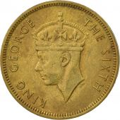 Hong Kong, George VI, 10 Cents, 1950, EF(40-45), Nickel-brass, KM:25