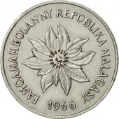 Madagascar, 5 Francs, Ariary, 1966, Paris, TTB+, Stainless Steel, KM:10