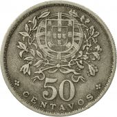 Portugal, 50 Centavos, 1946, TB, Copper-nickel, KM:577