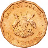Uganda, Shilling, 1987, MS(63), Copper Plated Steel, KM:27
