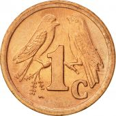 South Africa, Cent, 1993, AU(55-58), Copper Plated Steel, KM:132
