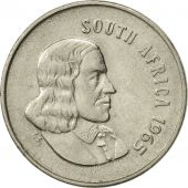 South Africa, 5 Cents, 1965, EF(40-45), Nickel, KM:67.1