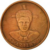 Swaziland, Queen Dzeliwe, Cent, 1986, British Royal Mint, TTB, Bronze, KM:39a