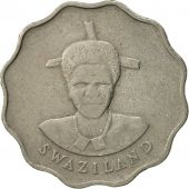 Swaziland, Queen Dzeliwe, 5 Cents, 1986, British Royal Mint, TTB, Copper-nickel
