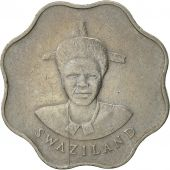Swaziland, King Msawati III, 10 Cents, 1986, British Royal Mint, TTB