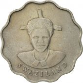 Swaziland, Queen Dzeliwe, 20 Cents, 1986, British Royal Mint, TTB