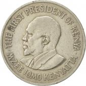 Kenya, Shilling, 1971, EF(40-45), Copper-nickel, KM:14