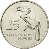 Zambie, 25 Ngwee, 1992, British Royal Mint, SUP, Nickel plated steel, KM:29