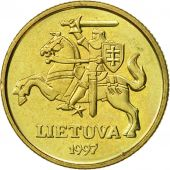 Lithuania, 20 Centu, 1997, SUP, Nickel-brass, KM:107