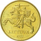 Lithuania, 50 Centu, 1997, SUP, Nickel-brass, KM:108