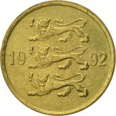 Estonia, 10 Senti, 1992, no mint, TTB+, Aluminum-Bronze, KM:22