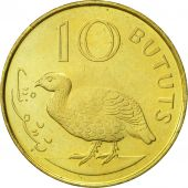 GAMBIA, THE, 10 Bututs, 1998, SUP, Brass plated steel, KM:56