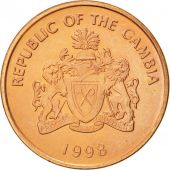 GAMBIA, THE, 5 Bututs, 1998, SUP, Copper Plated Steel, KM:55