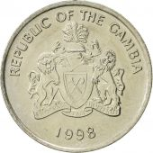 GAMBIA, THE, 25 Bututs, 1998, SUP, Copper-nickel, KM:57