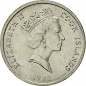 Îles Cook, Elizabeth II, 5 Cents, 1992, Franklin Mint, SUP, Copper-nickel