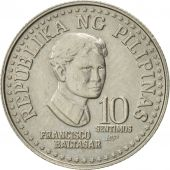 Philippines, 10 Sentimos, 1979, SUP, Copper-nickel, KM:226