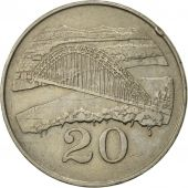 Zimbabwe, 20 Cents, 1980, EF(40-45), Copper-nickel, KM:4