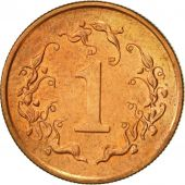 Zimbabwe, Cent, 1991, EF(40-45), Bronze Plated Steel, KM:1a
