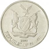 Namibia, 5 Cents, 1993, Vantaa, SUP, Nickel plated steel, KM:1