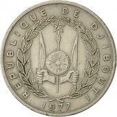 Djibouti, 50 Francs, 1977, Paris, TTB, Copper-nickel, KM:25