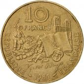 France, Victor Hugo, 10 Francs, 1985, Paris, TTB+, Nickel-Bronze, KM:956