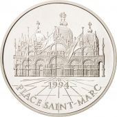 France, 100 Francs-15 Ecus, 1994, Place St-Marc, Argent, KM:1068