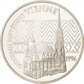 France, 100 Francs-15 Euro, 1996, Vienna, Silver, KM:1140