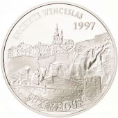 France, 100 Francs-15 Euro, 1997, Wenceslaus Wall, Silver, KM:1191