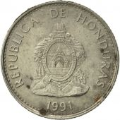Honduras, 20 Centavos, 1991, TTB+, Nickel plated steel, KM:83a.1