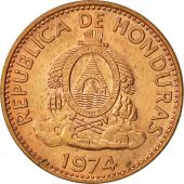 Honduras, Centavo, 1974, SUP, Copper Plated Steel, KM:77a