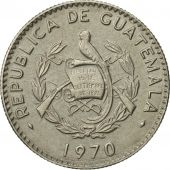 Guatemala, 5 Centavos, 1970, SUP, Copper-nickel, KM:266.1