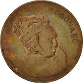 Dominican Republic, Centavo, 1986, Dominican Republic Mint, TB, Copper Plated