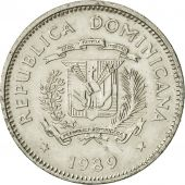 Dominican Republic, 5 Centavos, 1989, TTB+, Nickel Clad Steel, KM:69