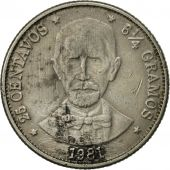 Dominican Republic, 25 Centavos, 1981, TTB, Copper-nickel, KM:51