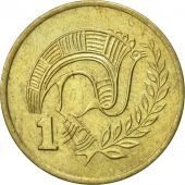 Chypre, Cent, 1983, SUP, Nickel-brass, KM:53.1