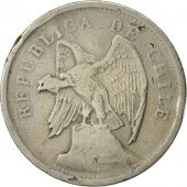 Chile, 20 Centavos, 1924, TB+, Copper-nickel, KM:167.1