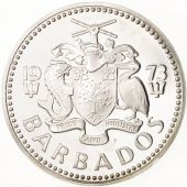 Barbados, 5 Dollars, 1973, Argent, KM:16a