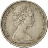 Australia, Elizabeth II, 5 Cents, 1967, AU(50-53), Copper-nickel, KM:64