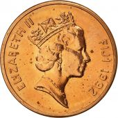 Fiji, Elizabeth II, Cent, 1992, SUP, Copper Plated Zinc, KM:49a