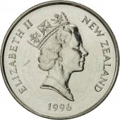 Nouvelle-Zélande, Elizabeth II, 5 Cents, 1996, SUP, Copper-nickel, KM:60