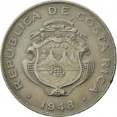 Costa Rica, 25 Centimos, 1948, TTB, Copper-nickel, KM:175
