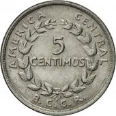 Costa Rica, 5 Centimos, 1953, SUP, Stainless Steel, KM:184.1a