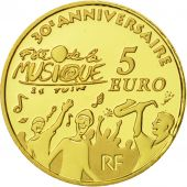 France, 5 Euro, Europa, 2011, BE FDC, Or, KM:1791