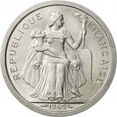 French Polynesia, Franc, 1965, Paris, SUP+, Aluminium, KM:2